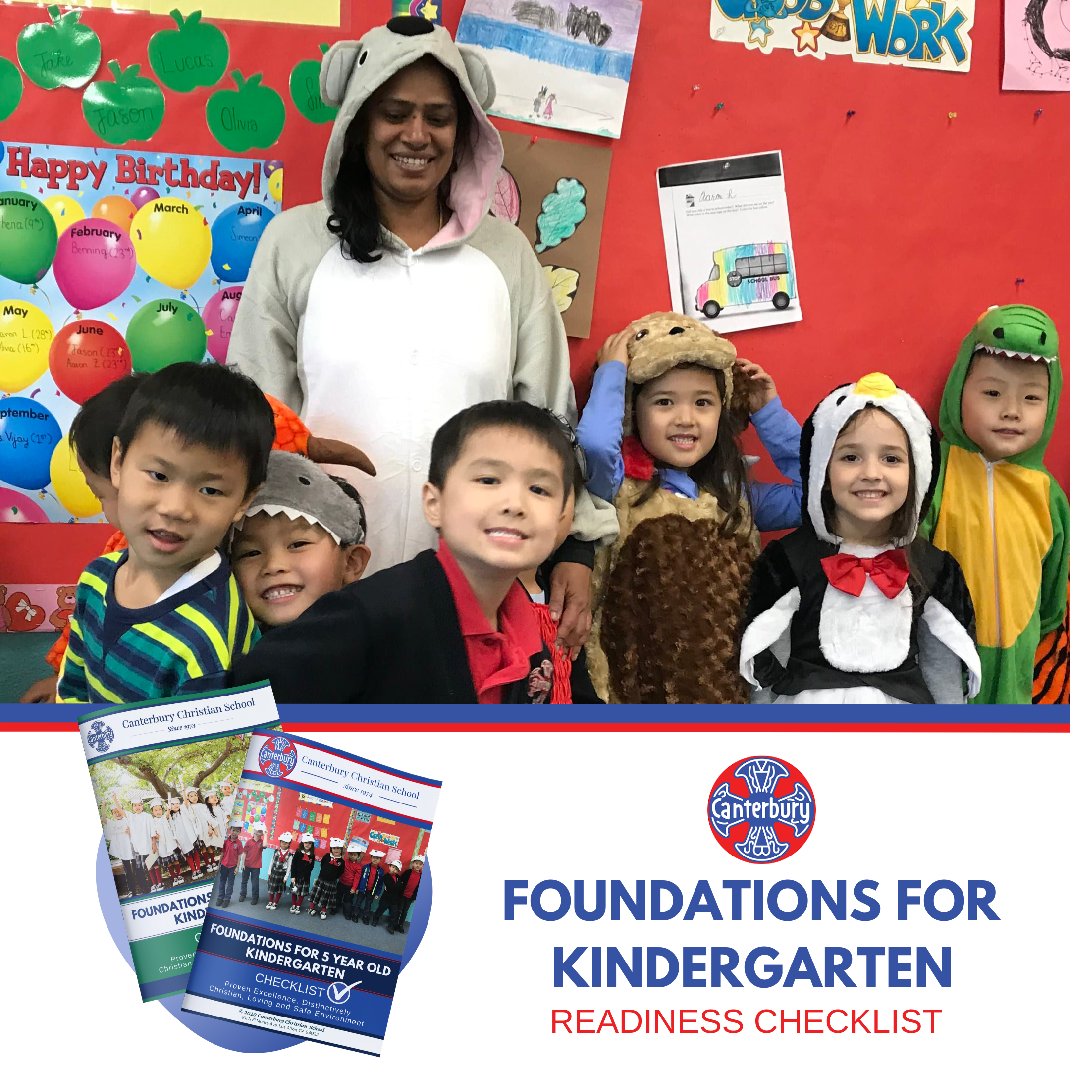 Foundations for Kindergarten Readiness Checklist